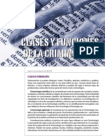 Clases y Funciones De La Criminologia.pdf