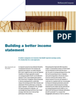 Building a Better Income Statement