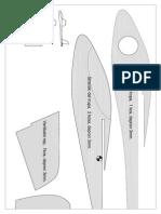 Little Depron Glider PLANS SI