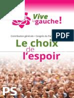Contribution Générale de Vive la Gauche !