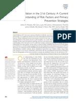 Atrial Fibrillation in the 21st Century