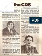 Folha CDS, nº 136 - 14 de Setembro de 1978