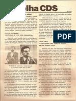 Folha CDS, nº 145 - 16 de Novembro de 1978