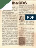 Folha CDS, nº 140 - 12 de Outubro de 1978