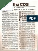 Folha CDS, nº 148- 14 de Dezembro de 1978
