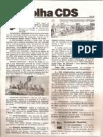 Folha CDS, nº 156- 15 de Fevereiro de 1979