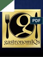 GastronomIQs - Company Presentation