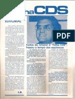 Folha CDS, nº 235 - 26 de Janeiro de 1981