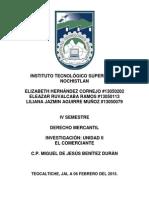 Derecho Mercantil ensayo