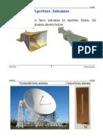 Aperture Antennas Word