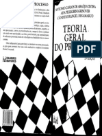 Teoria Geral Do Processo - Antônio Carlos Araújo Cintra; Ada Pellegrini Grinover e Cândido Rangel Dinamarco