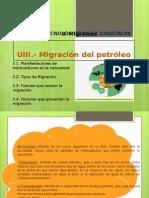 Migracion Del Petroleo