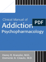 Kranzler - Clinical Manual of Addiction Psychopharmacology (APP, 2005)
