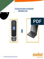 Manual Conexion Bluetooth Motorola k1m