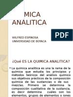 Quimica Analitica Diapositivas Primera Clase