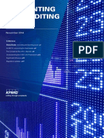 KPMG Accounting and Auditing Update - November 2014