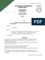 Análisis y formulación de la Filosofía de la Empresa.