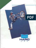 1985 Haro Catalog