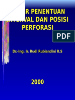 Wser-001 Dasar Penentuan Interval Dan Posisi Perforasi