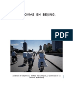 Análisis de Metas, Estratégias y Políticas de Una Ciclovía