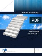 12122 Precast Concrete Stairs Specification 3-22-11
