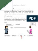 Pedoman Tehnik Komunikasi Yang Efektif Dalam Memberikan Informasi