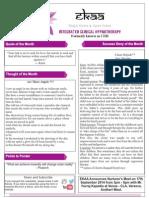Sept Newsletter