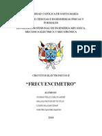 Frecuencimetro - Proyecto Electronicos II