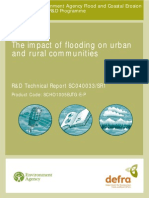 The Impact of Flooding on Urban and Rural Communities