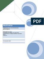 Referat Psihologie - Motivatia.doc