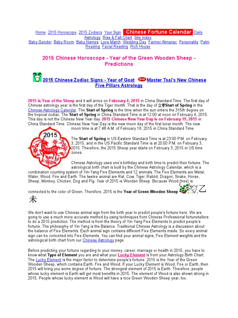 Fengshui Tips Chinese Zodiac Astrological Sign