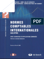 Normes  omptables Internationales Ias Ifrs