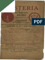 Mysteria Année 1 Volume 1 Janvier 1913