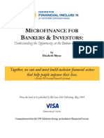 Microfinance for Bankers - A Preview