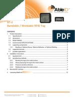 BT-2 BandableWeldableRFIDTag Able ID