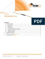 CC-71 Embeddable RFID Tag Able ID