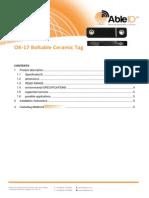 OK-17 BoltableCeramicTag Able ID