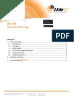OK-106 Ceramic RFIDTag Able ID