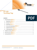 PT-103 Tie Wrap Tag Able ID