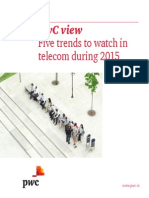Five Trends to Watch in Telecom During 2015