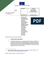 Dictamen -counteropinion- cese EHS