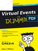 Virtual Events for Dummies Book