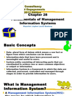 Fundamentals of management information system