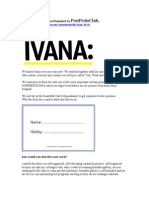 Postprolo2008, Interview with Ivana Marjanović by PostProloClub Final Online