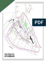 Peta Jaringan Kota Merauke-model