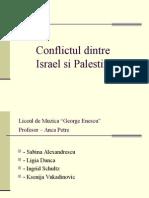 Conflict Ul Dintre Israels i Palestina