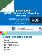 KU1072 W001a PengantarPerkuliahan 160114