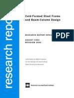 Cold-Formed Steel Frame, Sarawit