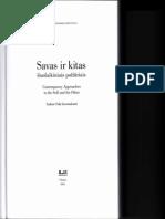 Sotirovic EU and Euro Identity in Book Savas Ir Kitas Vilnius 2014