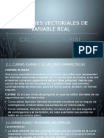 Calculo Vectoria - Funciones Vectoriales de Variable Real